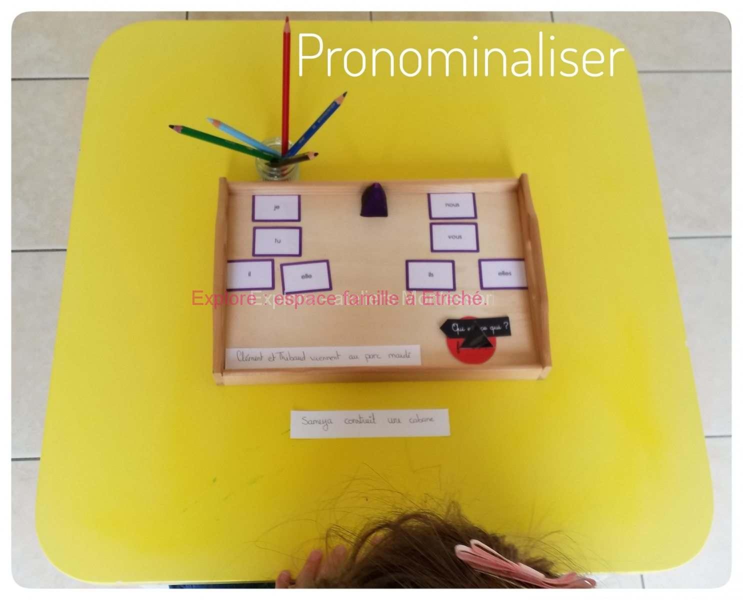 Soutien scolaire Montessori : la grammaire