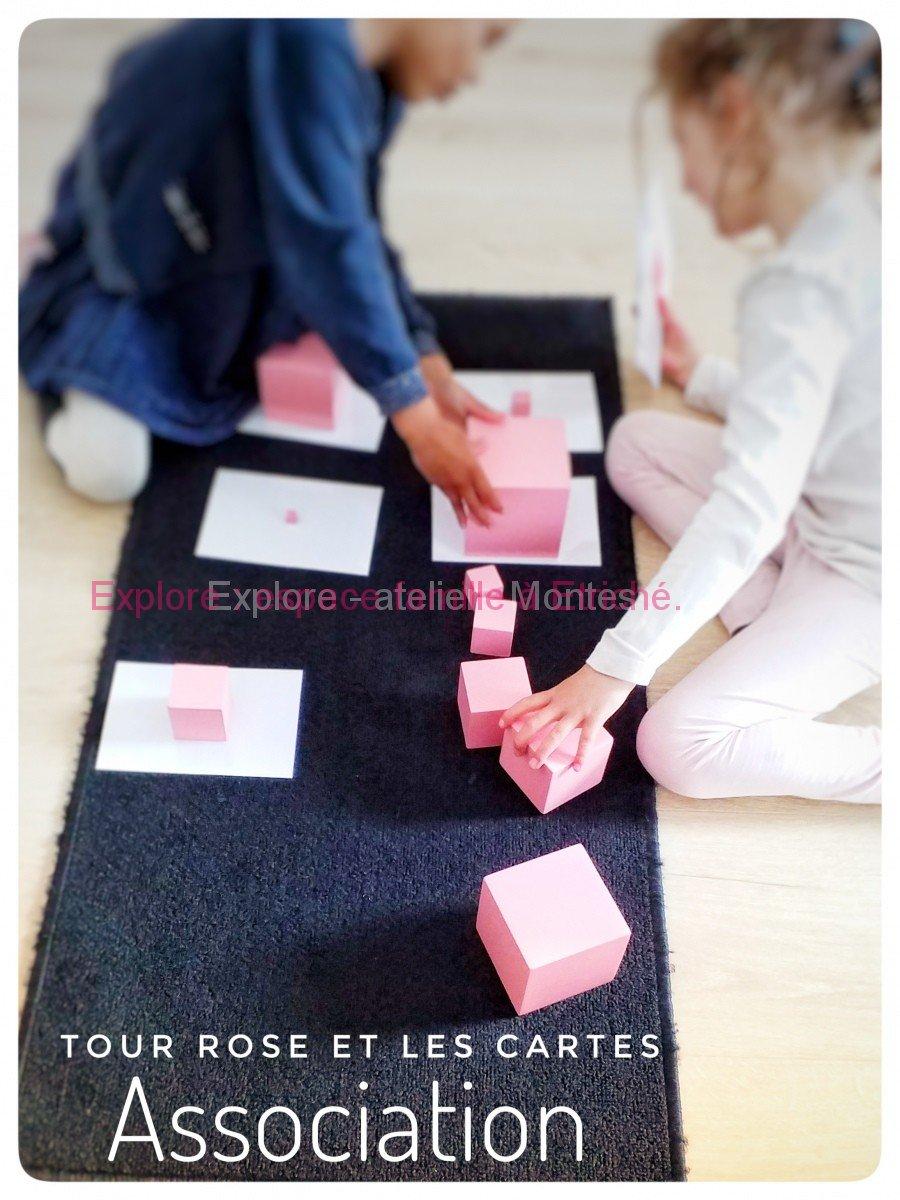 Tour rose : association à sa carte