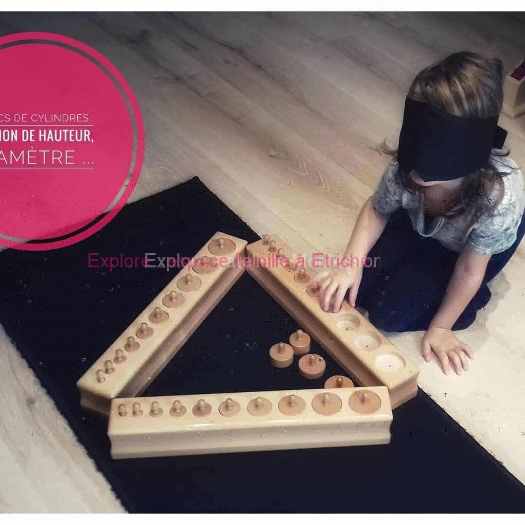 Soutien scolaire Montessori, approche sensoriel