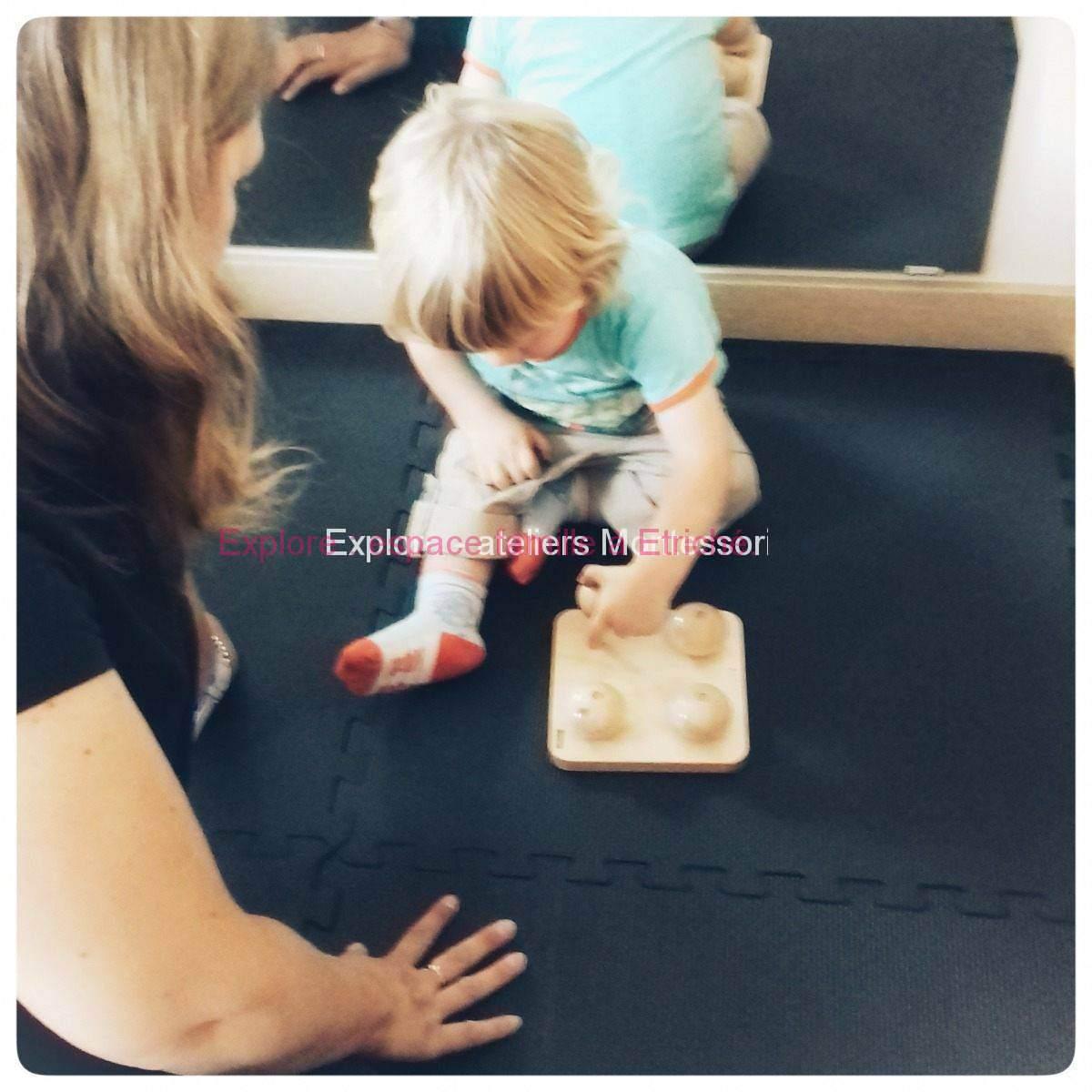 Atelier Montessori pour enfant accompagné ou non d'un parent
