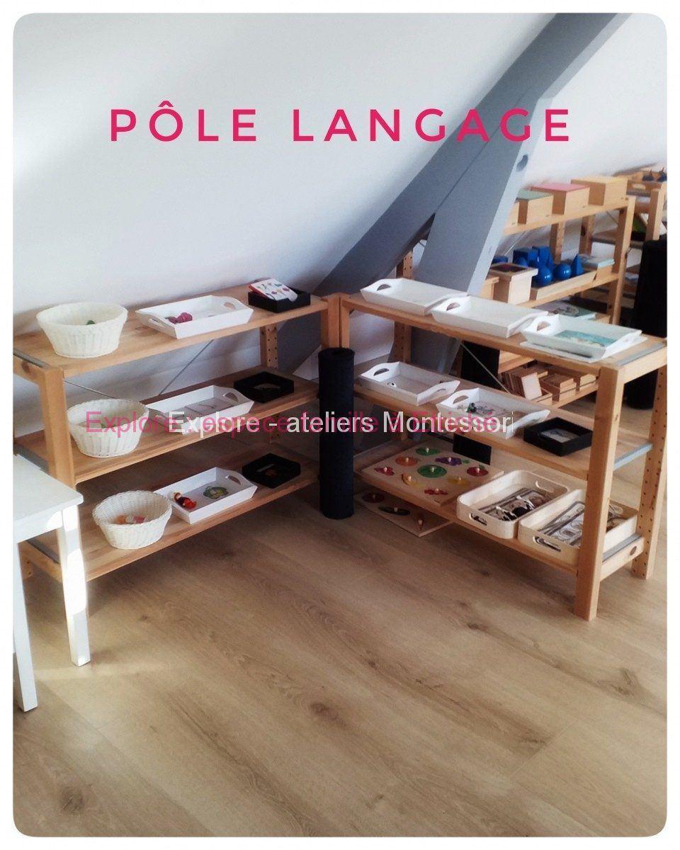 Atelier Montessori près d'Angers