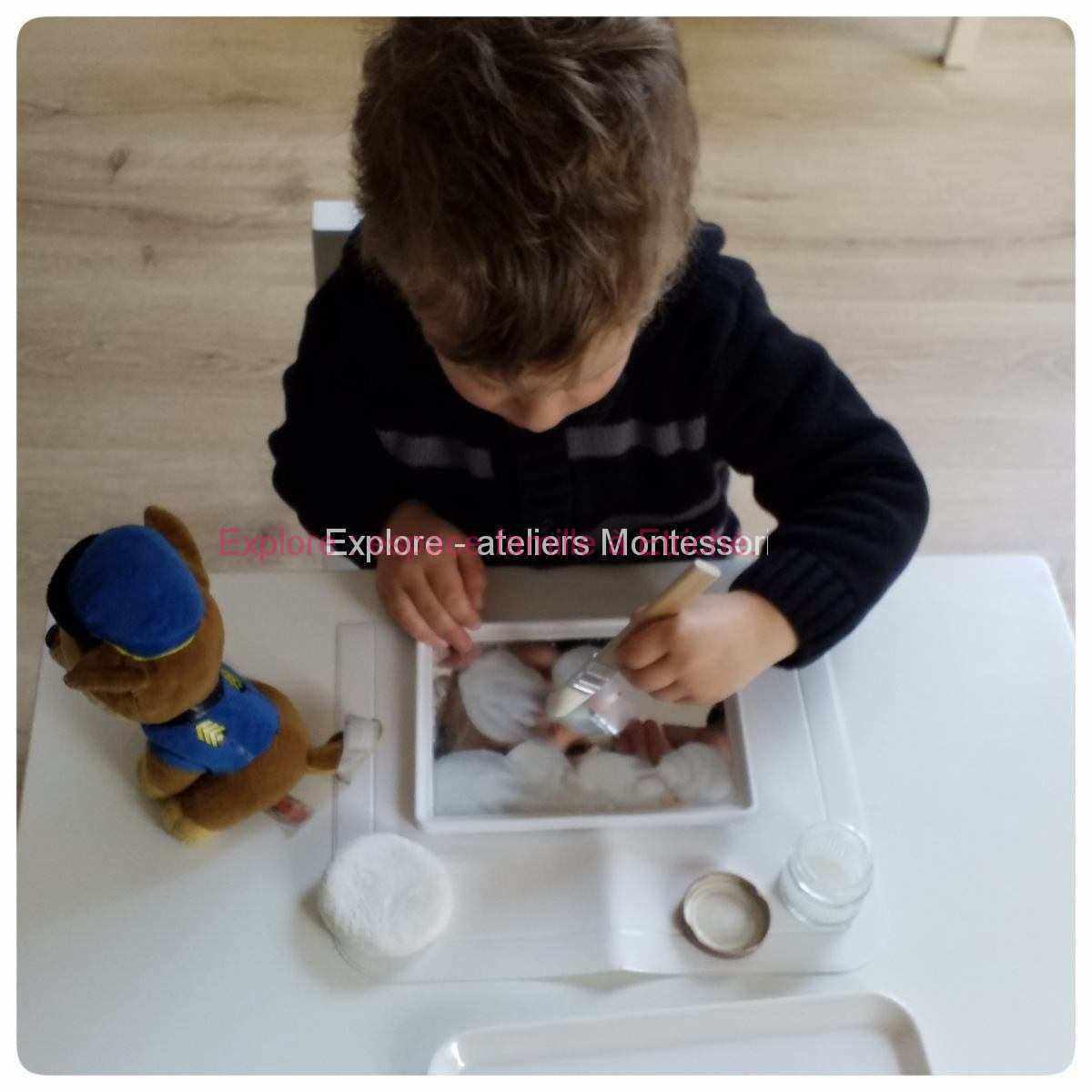 Anjou Loire et Sarthe : atelier Montessori