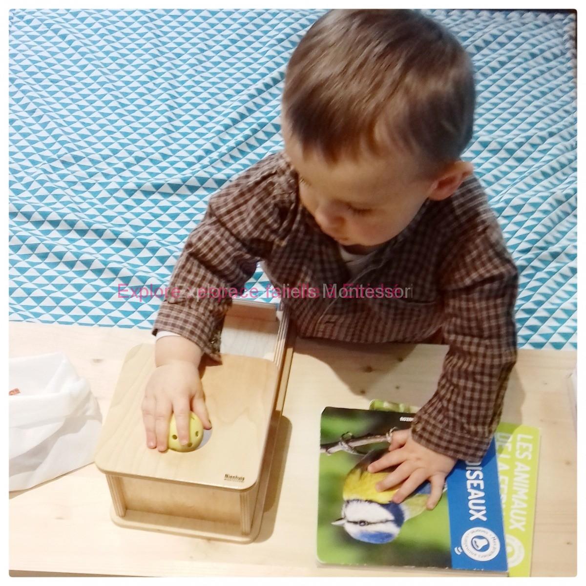 """Aux portes d'Angers, atelier Montessori """"parent-enfant"""""""