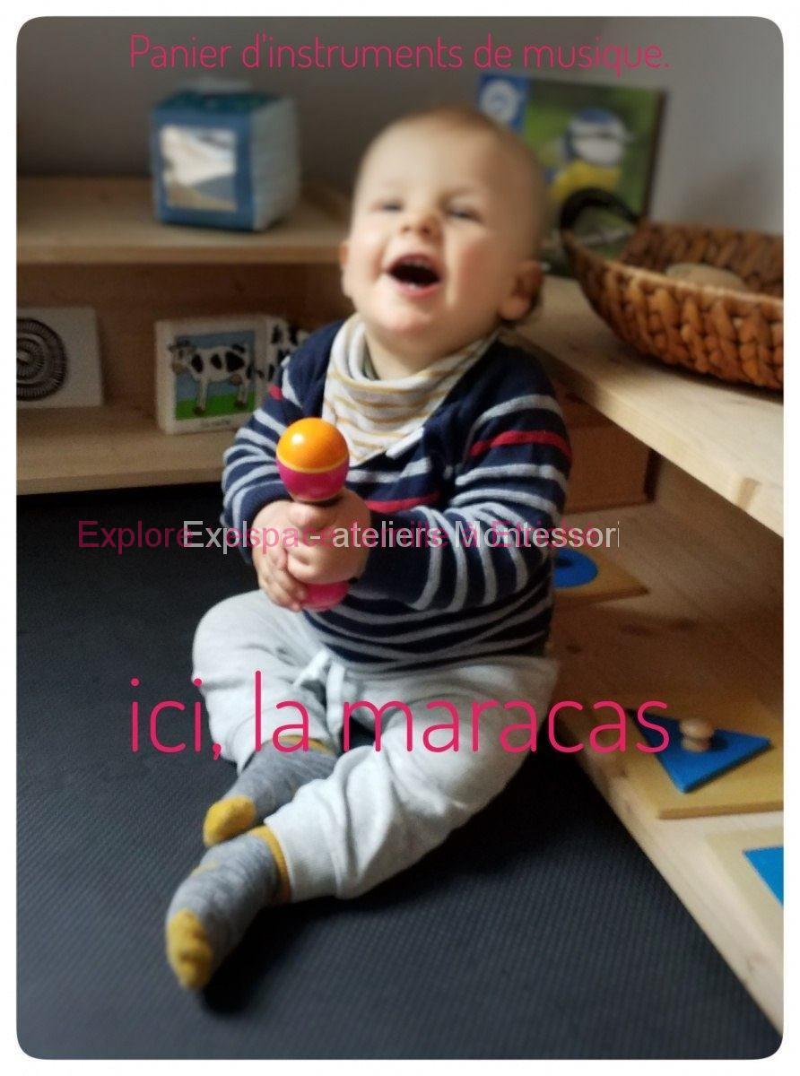 """Atelier Montessori """"parent-enfant"""" en Anjou"""