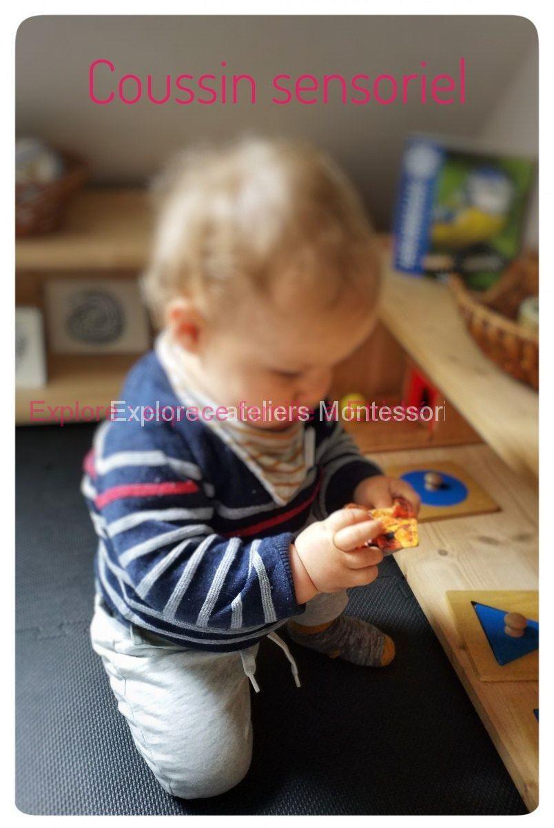 Observer son enfant évoluer dans un espace sain, sécurisant et lumineux / atelier Montessori