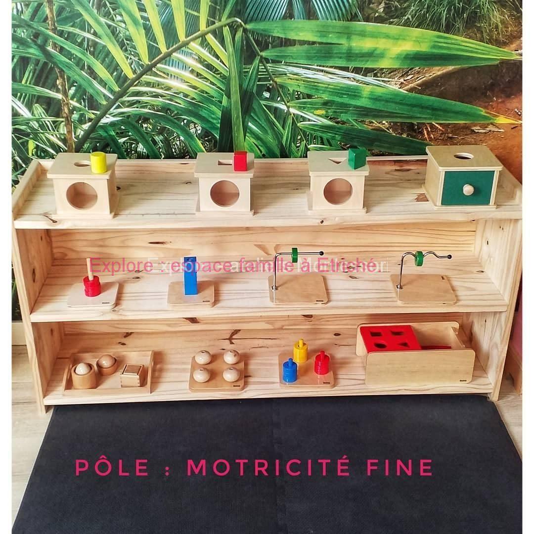 Discrimination des sens à l'atelier Montessori