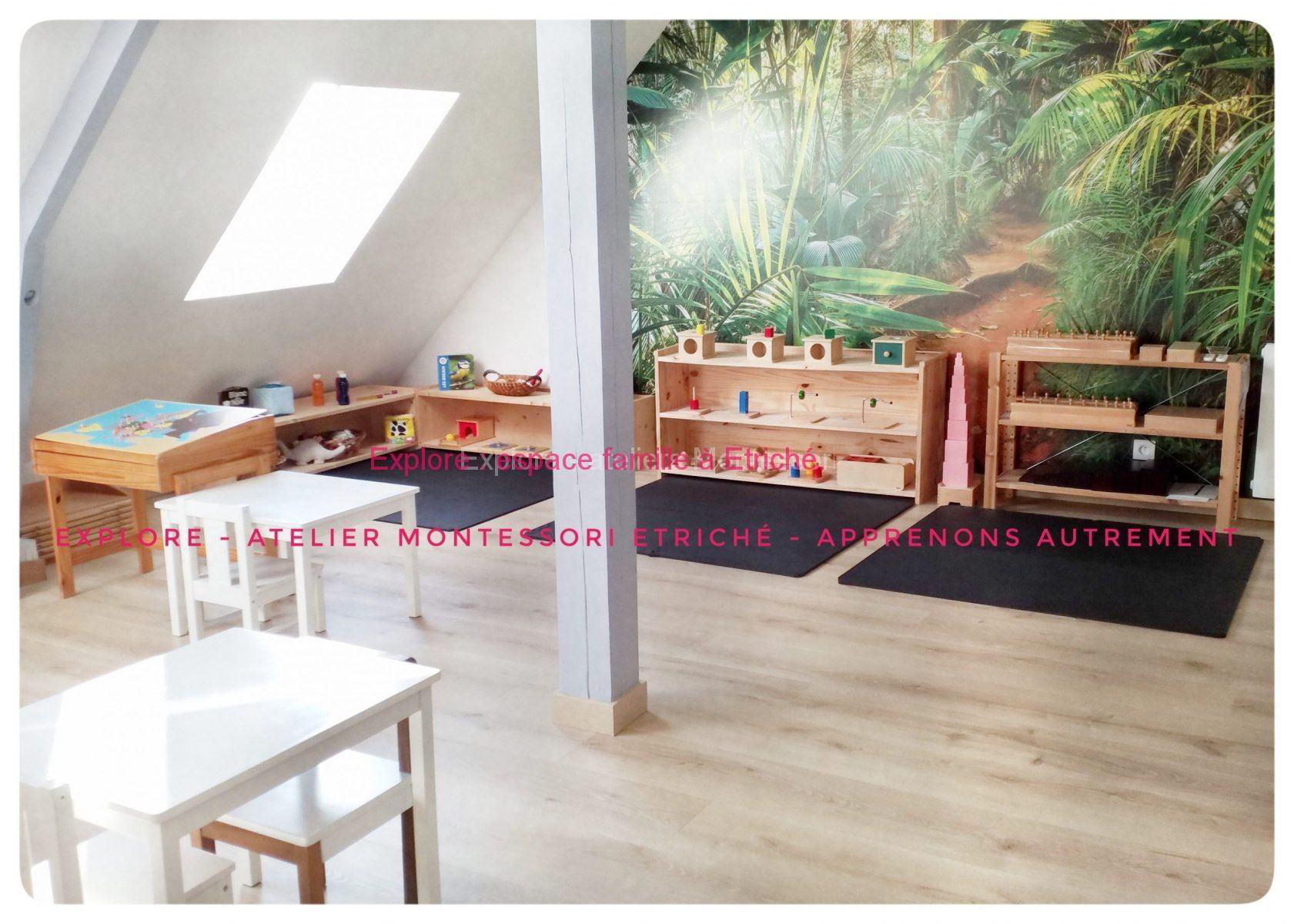La pédagogie Montessori s'installe à la campagne
