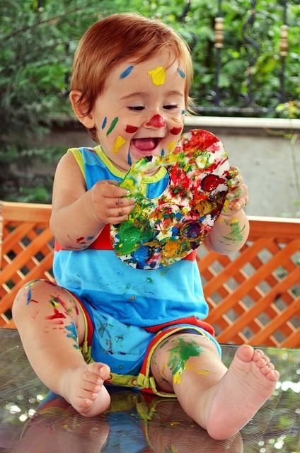 Montessori, bienveillance, art, artiste, peinture